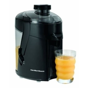 Hamilton Beach Juice Extractor Juicer in Black