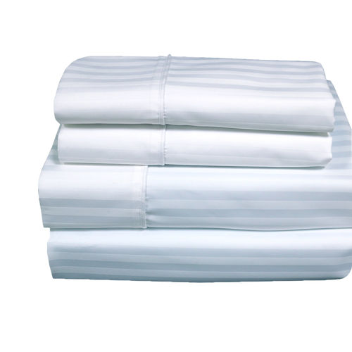 SUPER DEEP POCKET 22-INCH WRINKLE FREE STRIPED 650 COMBED COTTON SHEET SETS