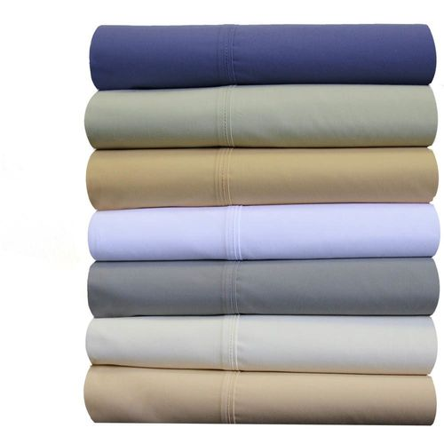 Split King Adjustable Bed Sheet Sets 100% Breathable Crispy Soft Cotton Percale Sheets - Abripedic