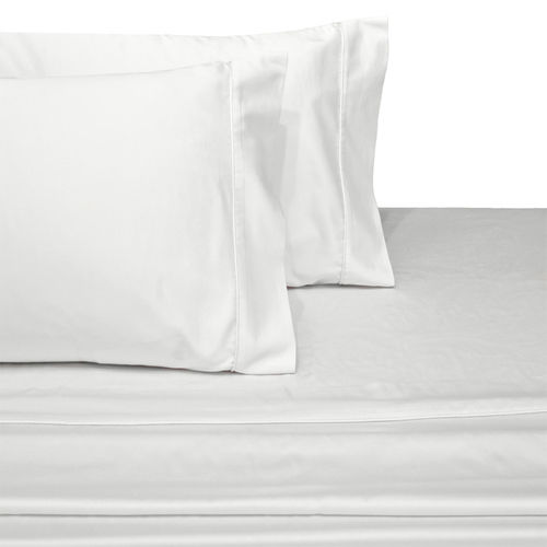 WRINKLE-RESISTANT 300TC SOLID 100% COMBED COTTON LINENS
