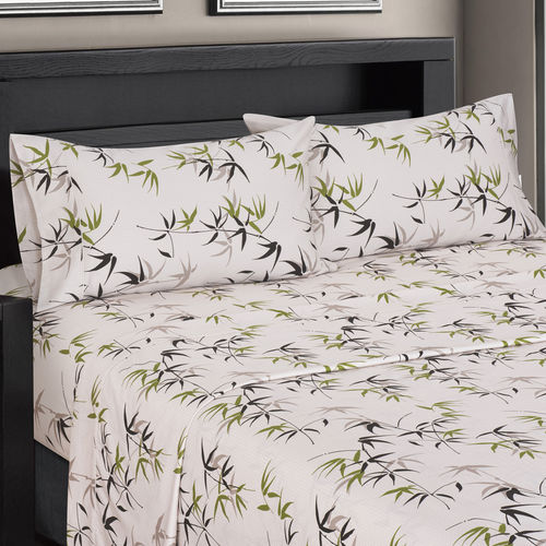 SPLIT KING FERN 300 THREAD COUNT 100% COTTON SHEET SETS