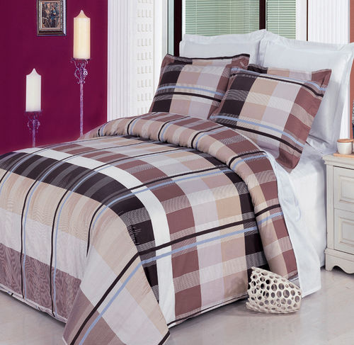 Arlington 3 Piece 100% Combed Cotton Duvet Set