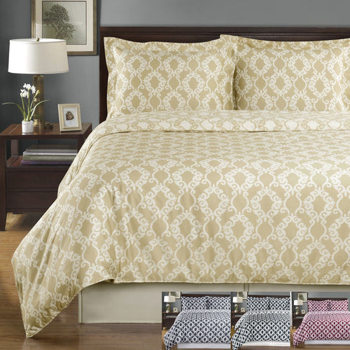 Sierra Silky Soft 100-Percent Combed cotton Reversible Duvet Covers