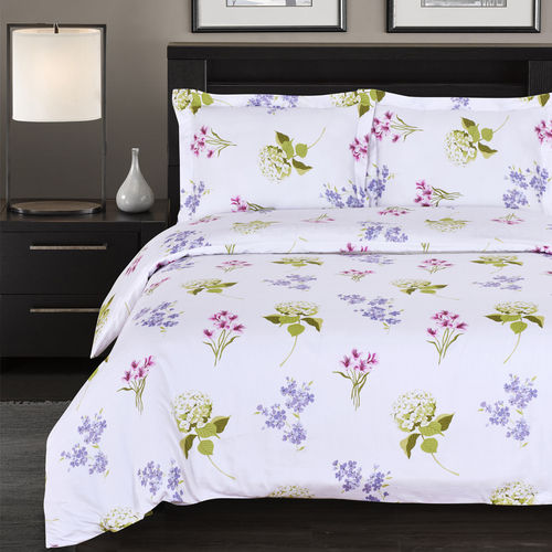 300 Thread count 100% Cotton Blossom Duvet Cover Sets