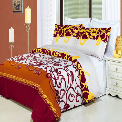 Mission Printed 3-Piece Duvet Set