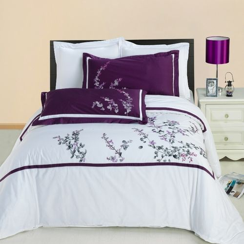 Spring Valley Embroidered Multi-Piece Duvet Set