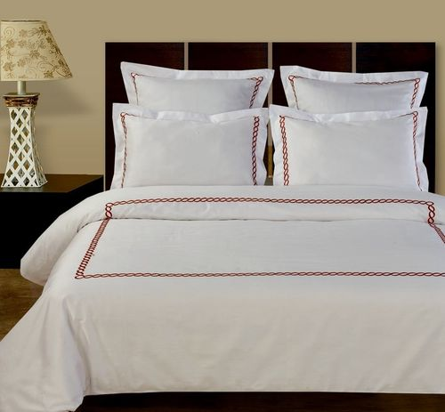 Amy 5-Piece 100% Cotton Embroidered Duvet Cover Sets