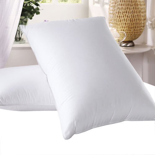 600 Thread Count Soft Neck Support Goose Down Pillow (Single)