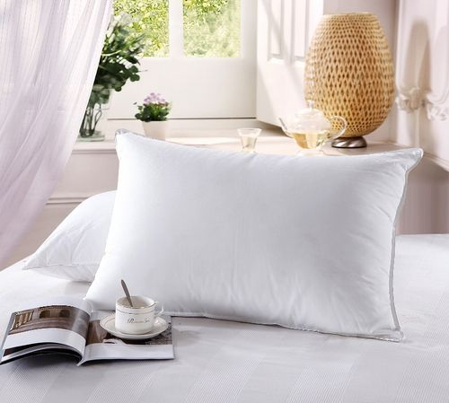 500 Thread count Down Firm filled Pillow (single)