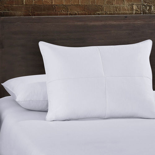 Goose Feather and White Down Pillows ( Set of 2)