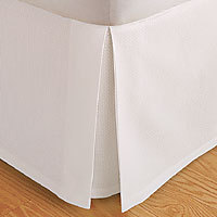 450 Thread Count Solid Bed Skirt Combed Cotton