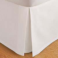 Solid Bed Skirt 100-Percent Microfiber