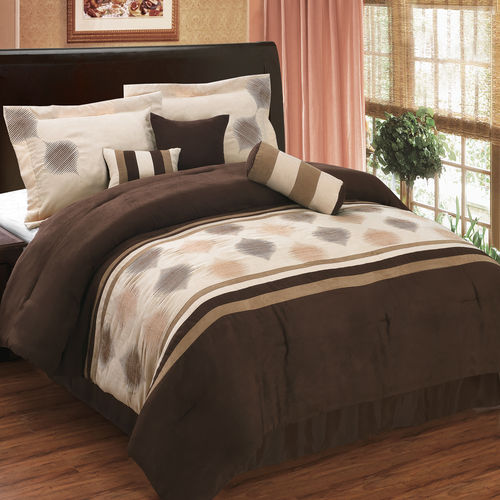GRACE MICRO SUEDE MULTI-PIECE BEDDING SET