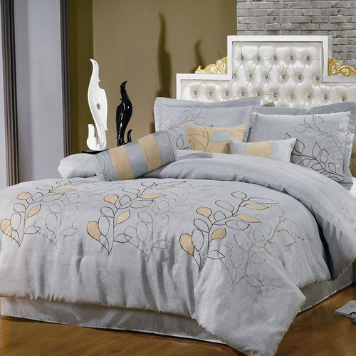 Silver Linen Oversized Multi-PIece Bedding Set