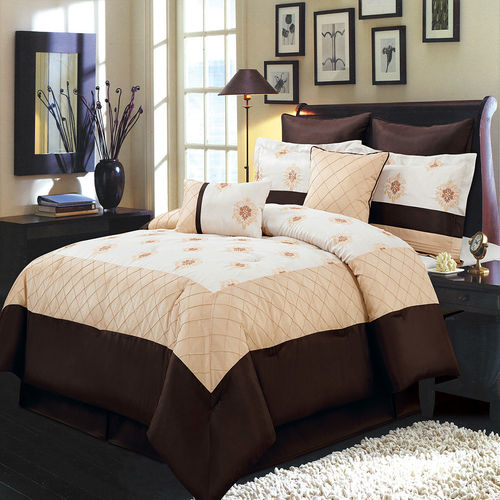 MADISON GOLD MULTI - PIECE BEDDING SET