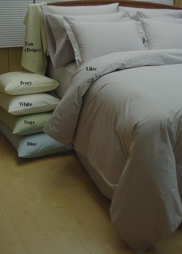 10-PC Combed Percale Down Alternative Bed in a bag