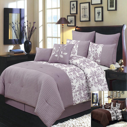Bliss 6-8 Piece Luxury Comforter Set