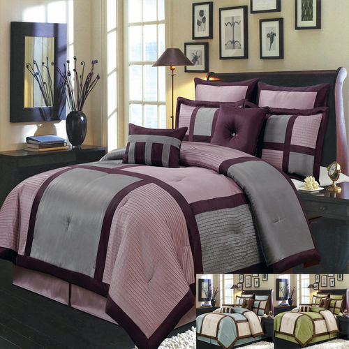 Morgan 6-8 Piece Luxury Comforter Set