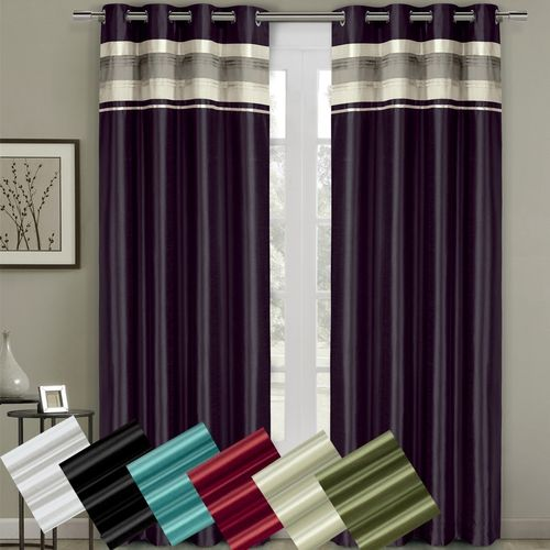 Milan Blackout Multi-layer Energy Saving Grommet Curtain Panel