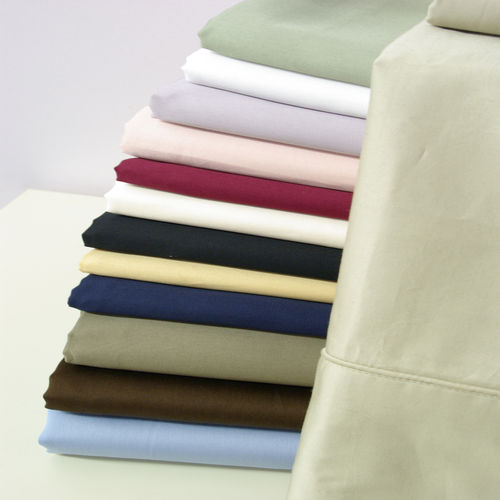 550 Thread count Solid Combed cotton sheets