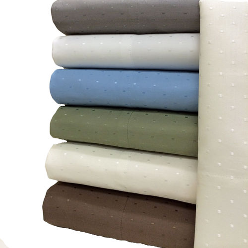 Woven Dots 600 Thread Count Sheet Sets