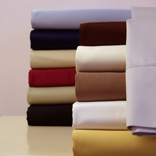Split Adjustable Dual King Sheets 100%Cotton 300 Thread count-Solid