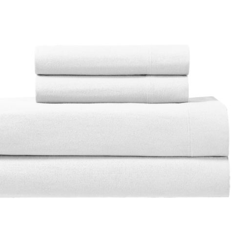 Split King Adjustable Sheet Set Heavyweight 100% Cotton Flannel Sheets