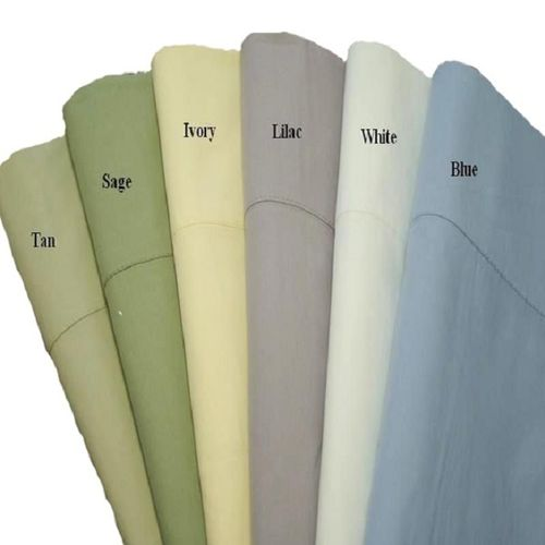 100% Cotton Percale Pillowcases (Set Of 2)