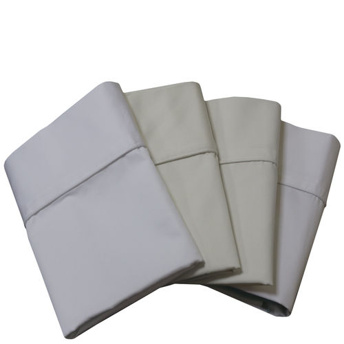 Wrinkle Resistant Pillowcases 100% Cotton Standard Or King Size