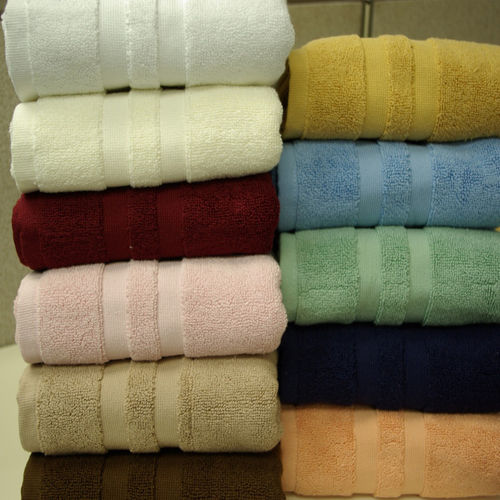 "2-Combed cotton Bath Mat 20""x32"" Each."