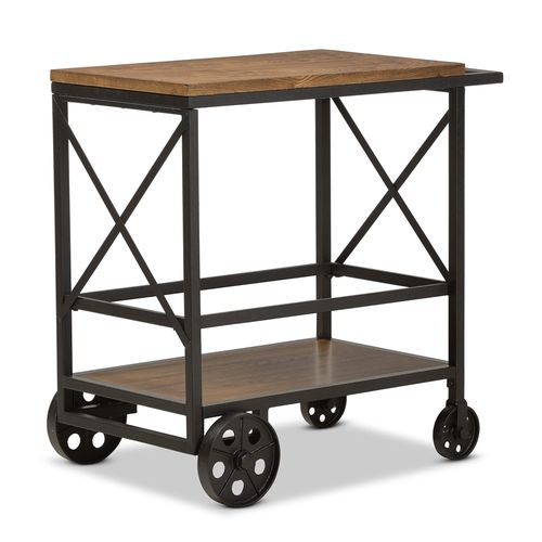 Go Home Black Industrial Kitchen Cart At Lowes Com: CreativeWorks Home Decor