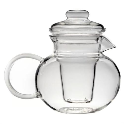Borosilicate Glass Stovetop Safe Teapot with Glass Tea Infuser